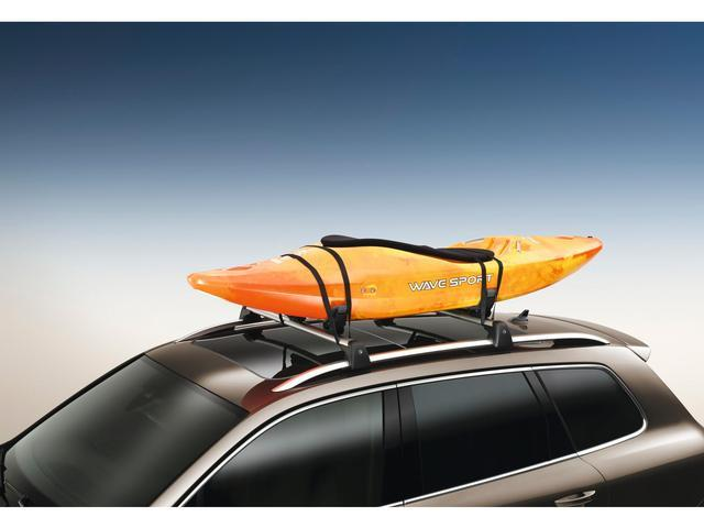 Diagram Base Carrier Bars and Kayak Holder Attachment (NPN071037) for your Volkswagen Arteon